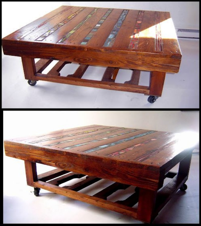 Coffee Tables Made Out Of Pallets Pallet Ideas Recycled Upcycled Pallets Furniture Projects