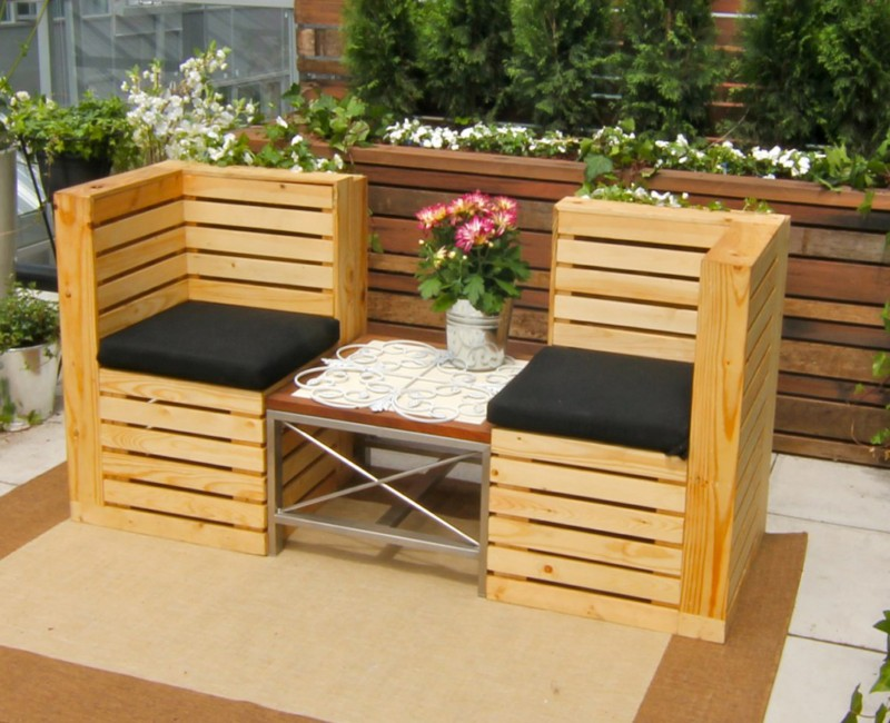 Good ideas for pallets pallet ideas recycled upcycled for Great pallet ideas
