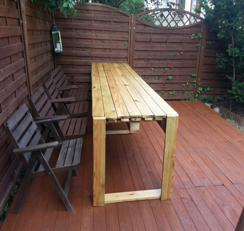 Pallets Bench Ideas