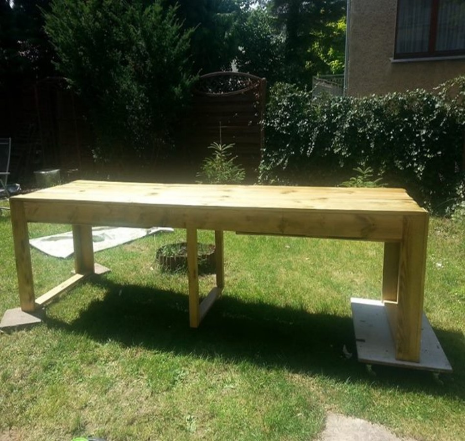 Pallets Bench Plan