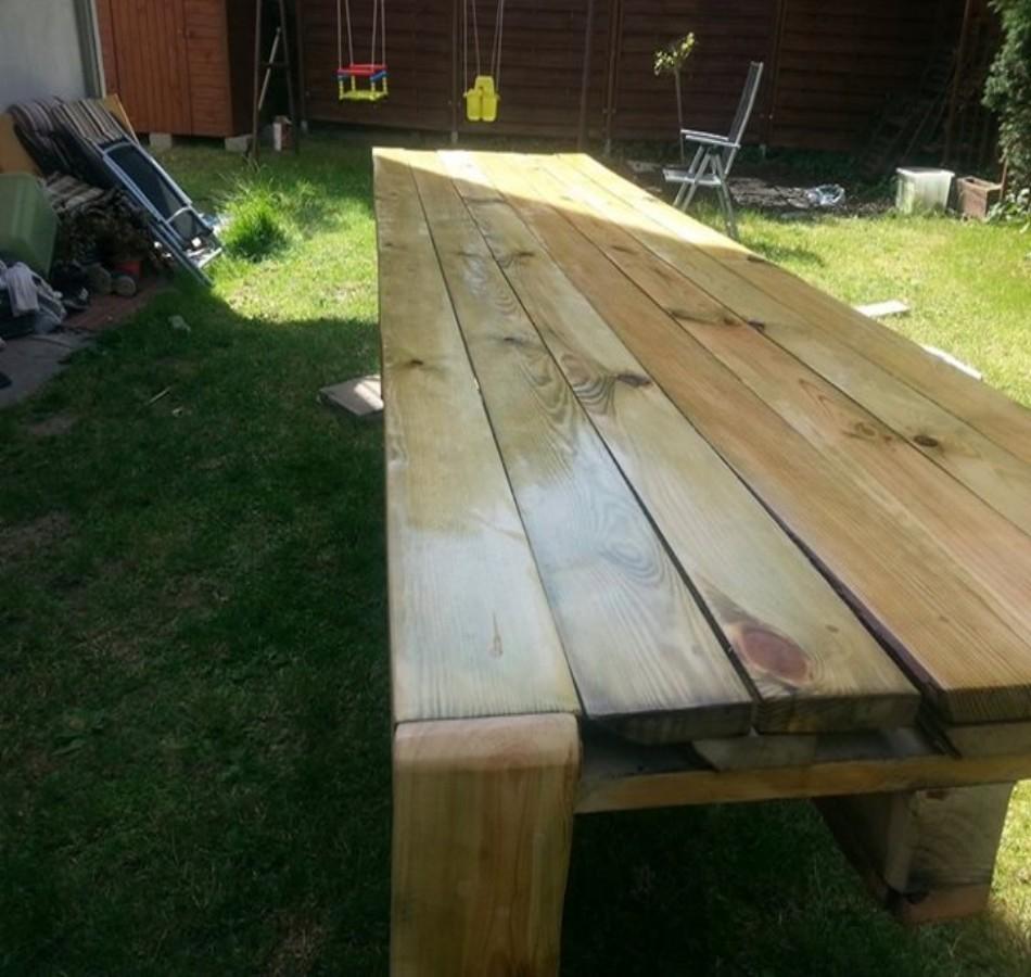 Pallets Bench Plans