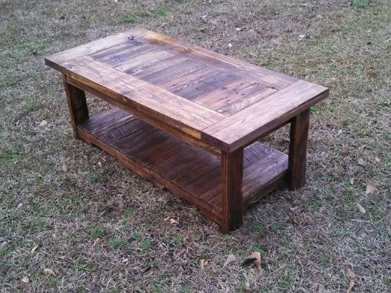 Pallets Made Coffee Table Pallet Ideas Recycled Upcycled Pallets Furniture Projects
