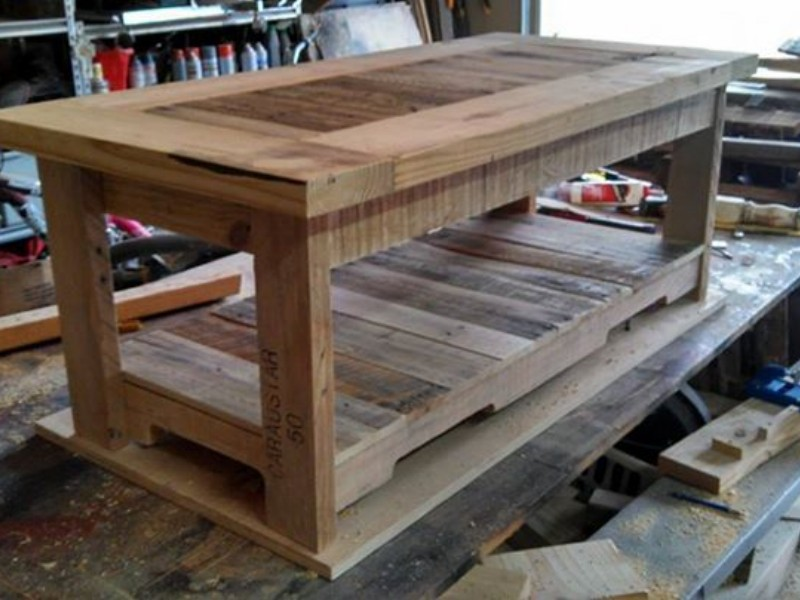 Pallets Made Coffee Table Pallet Ideas Recycled Upcycled