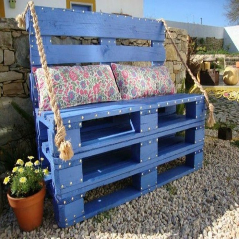Pallets Outdoor Sofa