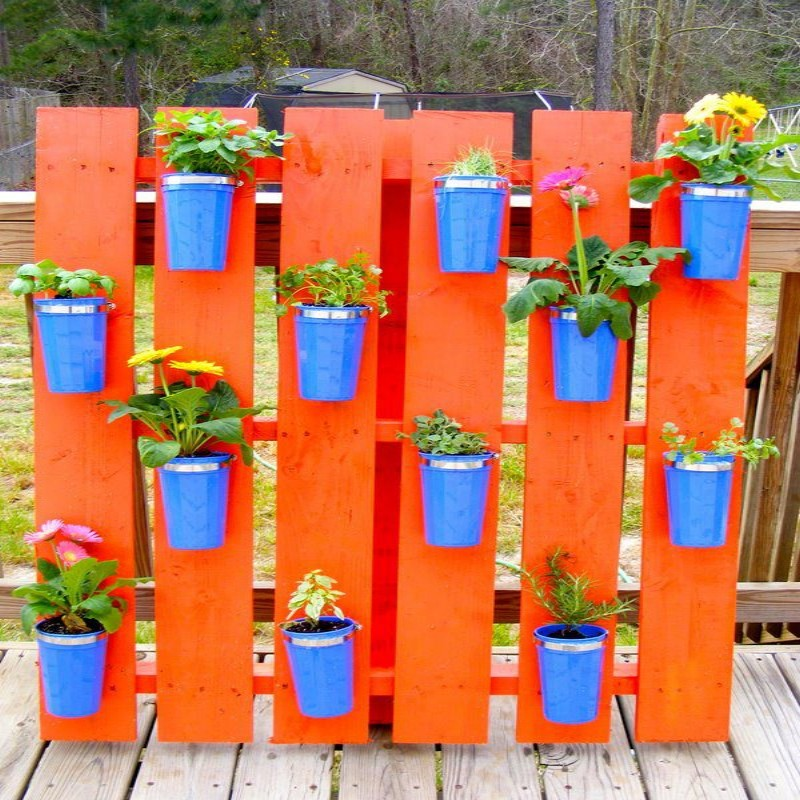 Pallets Outdoor Vertical Garden