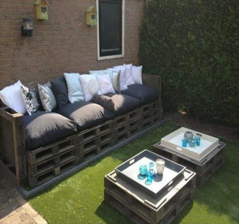 Garden Furniture Using Pallets garden furniture made with pallets | pallet ideas: recycled