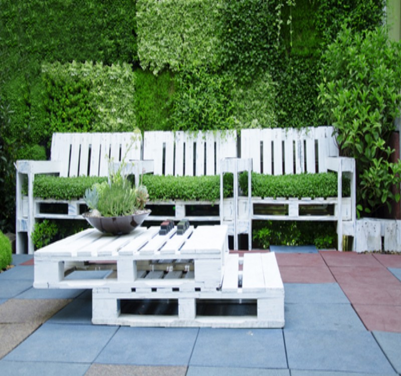 Garden Furniture Made With Pallets Pallet Ideas Recycled