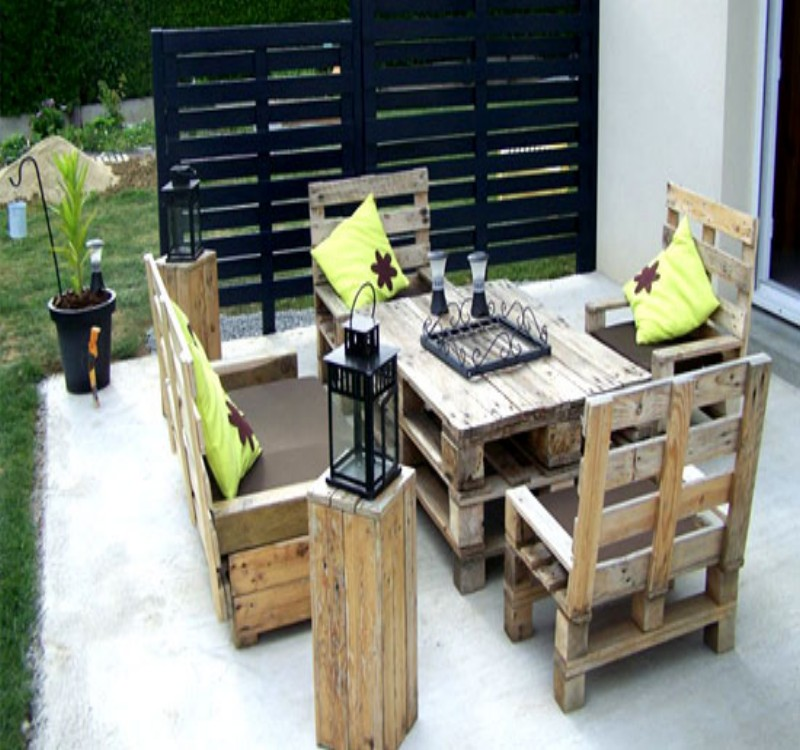 outdoor pallet furniture outdoor furniture made of pallets63 pallets