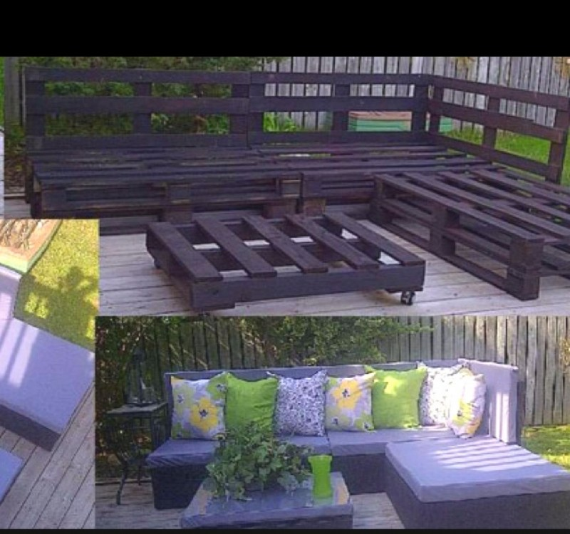 wooden pallets into patio furniture - Garden Furniture Wooden Pallets