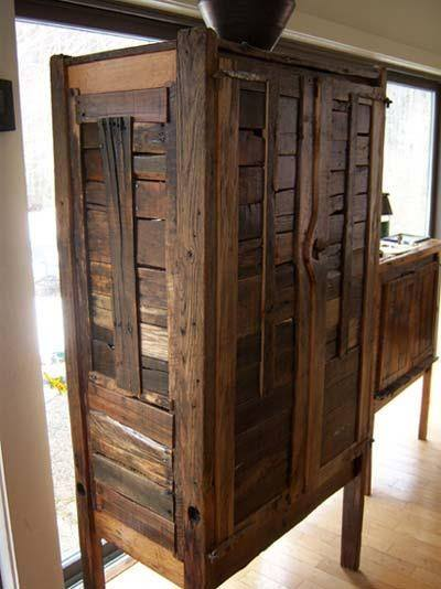 Decorate your kitchen with durable and stylish pallets for Kitchen units made from pallets