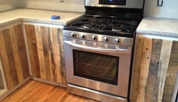 Decorate Your Kitchen with Durable and Stylish Pallets Cabinets