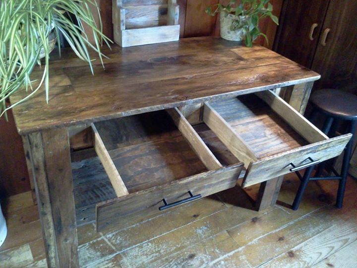 Foyer Table Made From Pallets : Recycled pallets entryway table pallet ideas