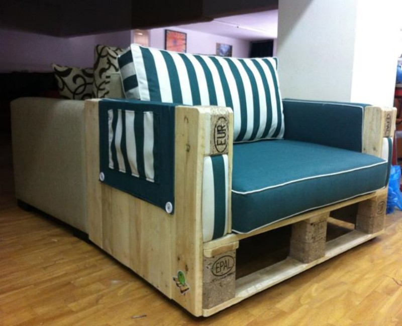 Pallets Made Wood Couches
