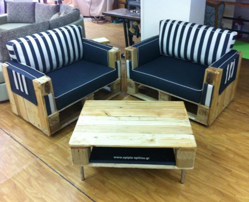 Wooden Couches couches made with wooden pallets | pallet ideas: recycled