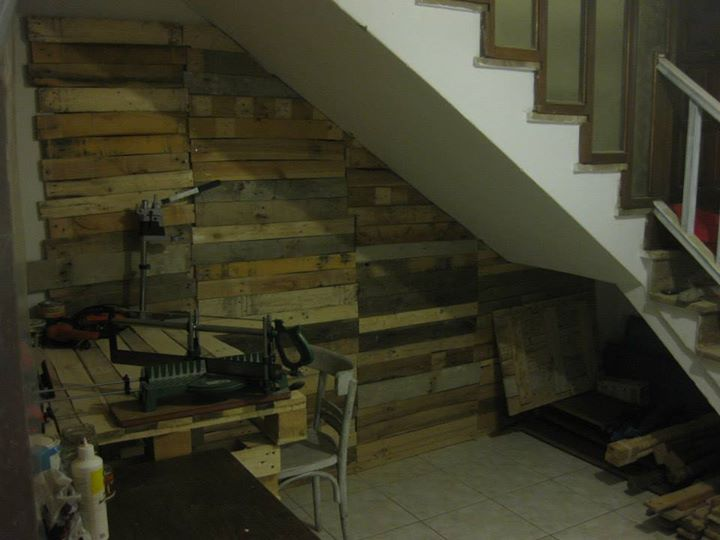 DIY Pallets Plans DIY Pallets Projects DIY Pallets Wall Pallets Wall ...