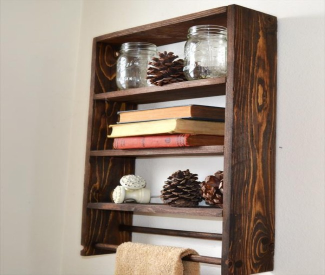 Pallets Made Shelf Units Ideas | Pallet Ideas