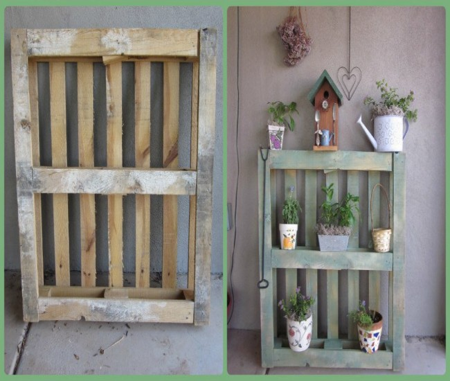 Pallets Made Shelf Units Ideas Pallet Ideas