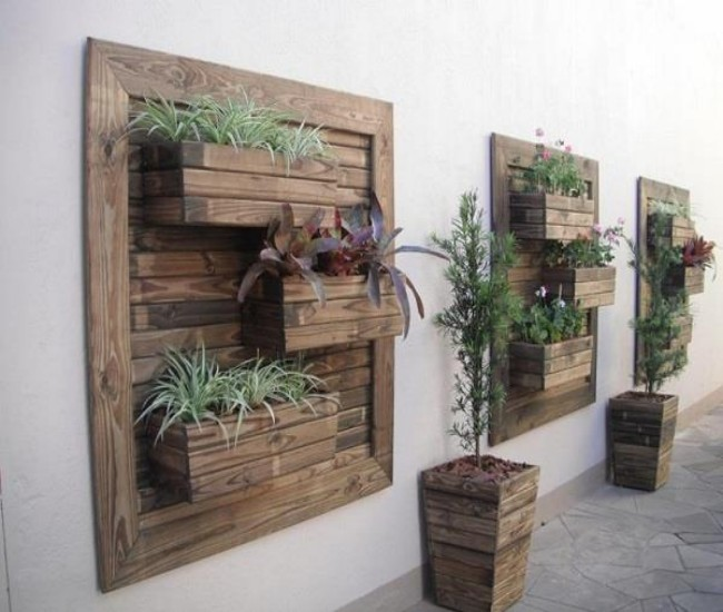 Pallets made decoration ideas pallet ideas recycled - Wooden art mobili ...