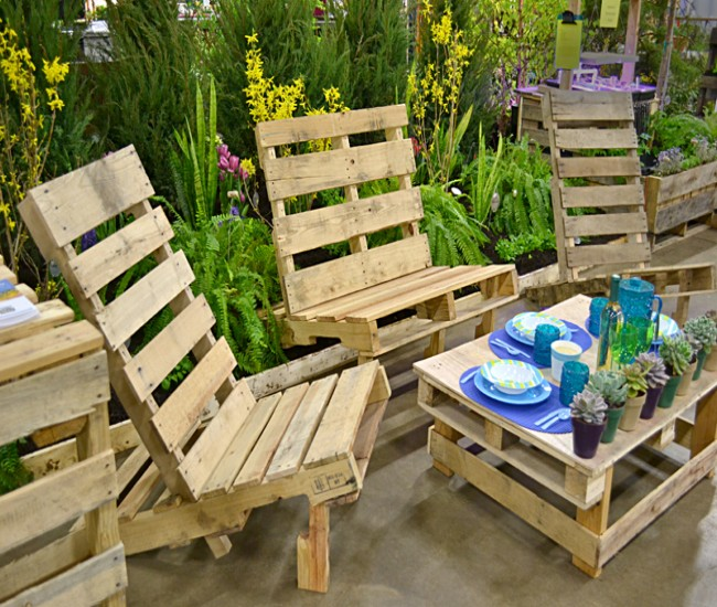 Outdoor Furniture Out Of Pallets Wood Pallet Ideas Recycled Upcycled Pallets Furniture