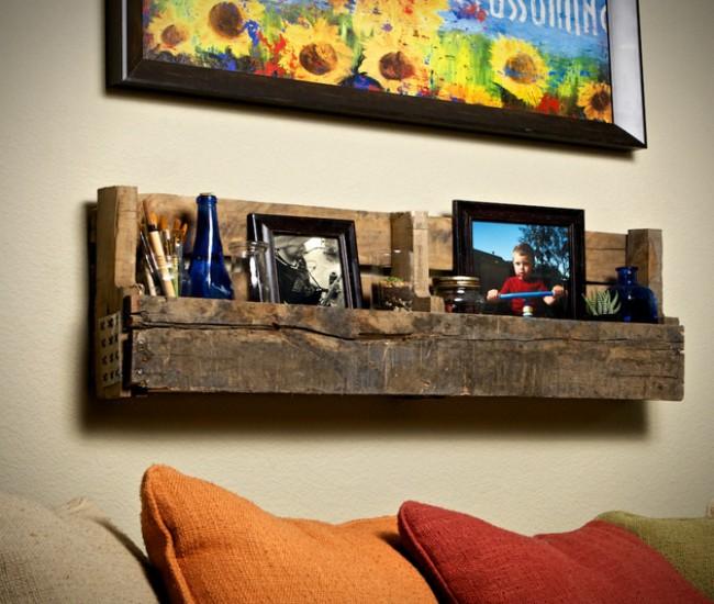Pallets Made Shelf Units Ideas Pallet Ideas