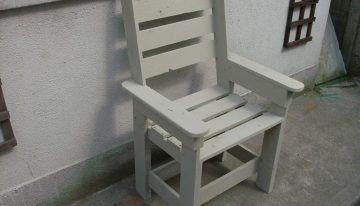 Pallet Chair in Linen