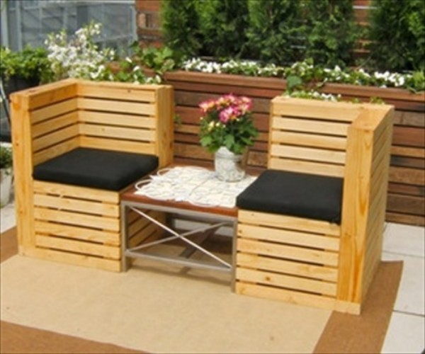 If You Are Looking For The Most Optimal Small Outdoor: Cute Patio Benches With Wood Pallets