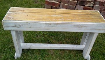 Nice Crafted Pallets Bench