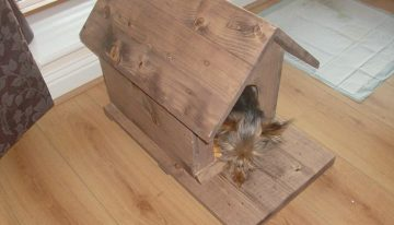 Pallets Wood Created Dog / Cat Houses