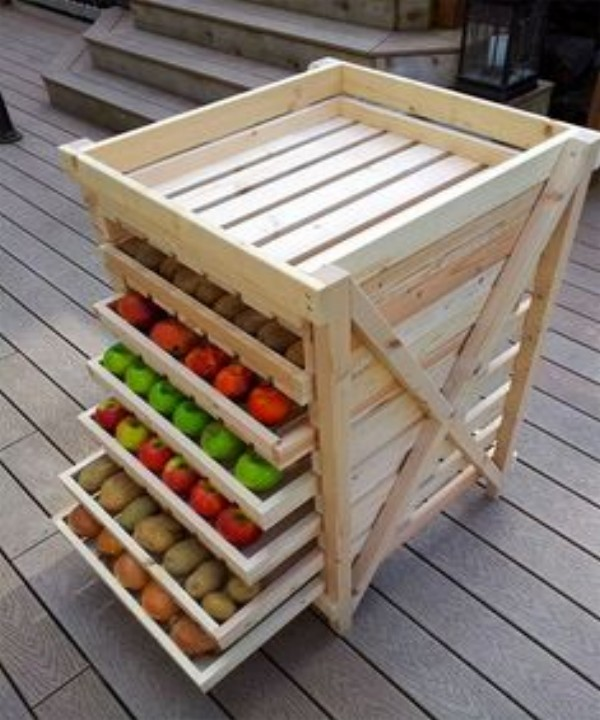 Pallets Fruit Crates