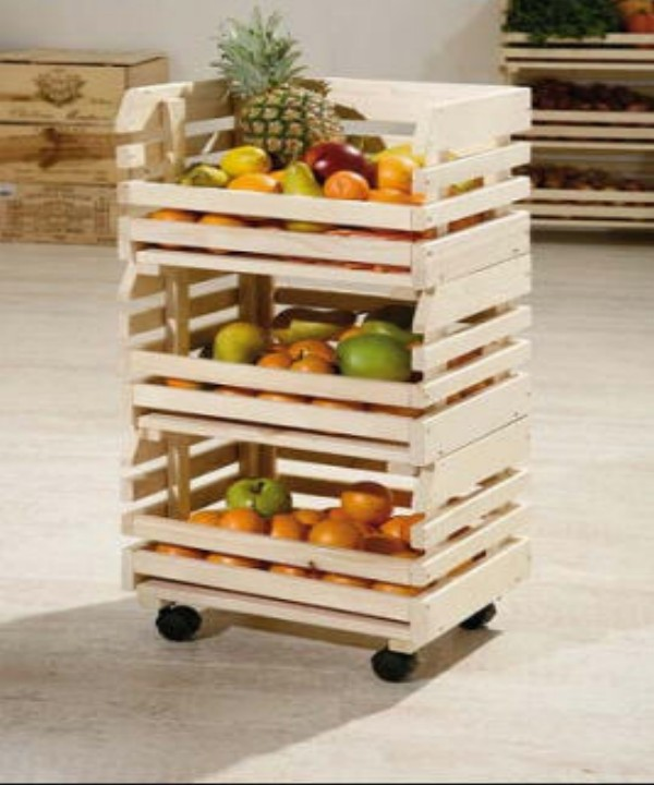 Pallets Fruit Racks