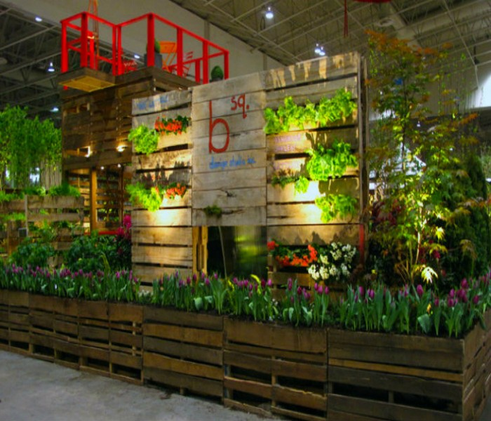 Pallets Made Wood Wall Planter Ideas