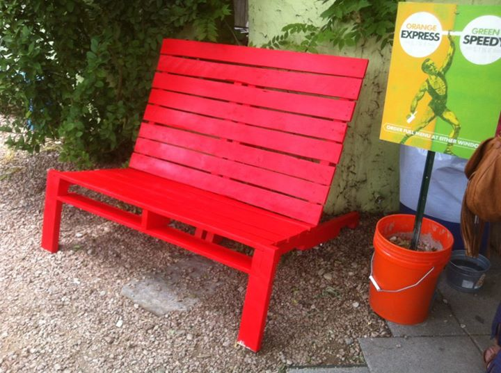 Pallets Patio Chairs