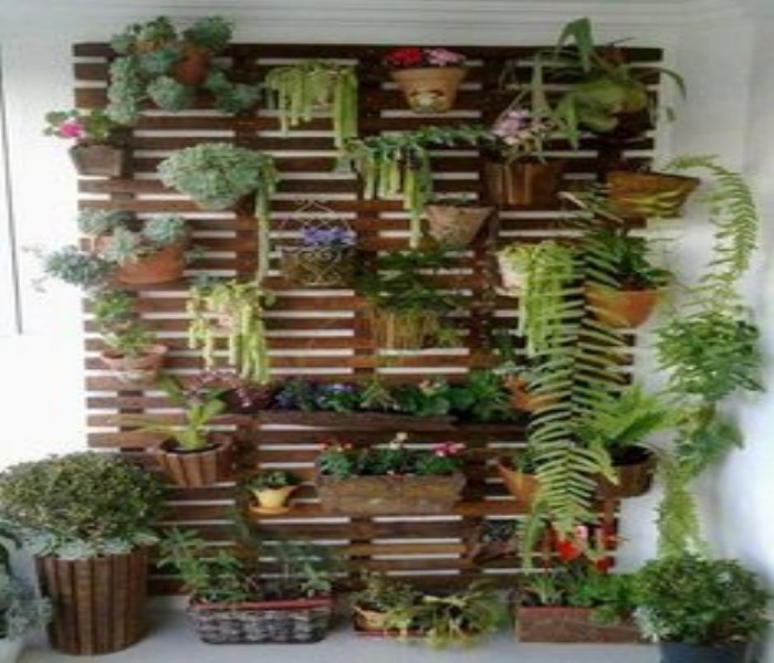 Planter From Pallet: Pallets Made Wood Wall Planter Ideas