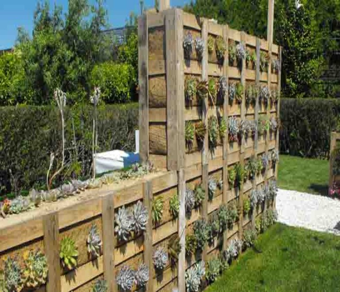 Pallets Made Wood Wall Planter Ideas Pallet Ideas