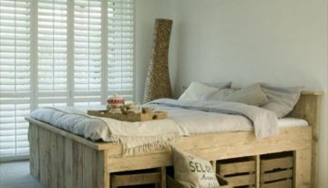 Pallets Powered Room Ideas
