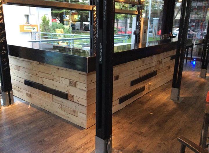 Eco Friendly Bar Pallets Works Pallet Ideas