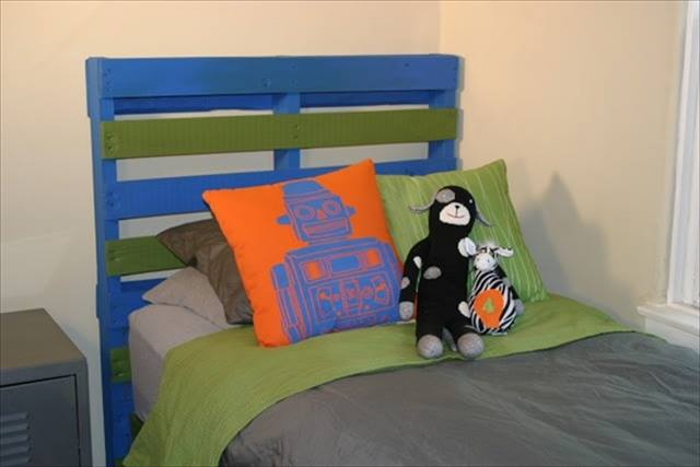 Kids Room Bed Pallets Ideas