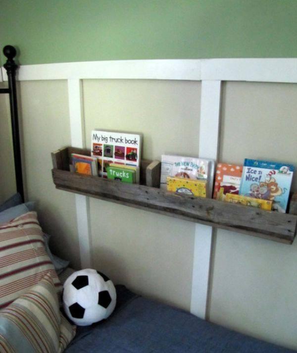 Kids Room Pallets Bookshelf