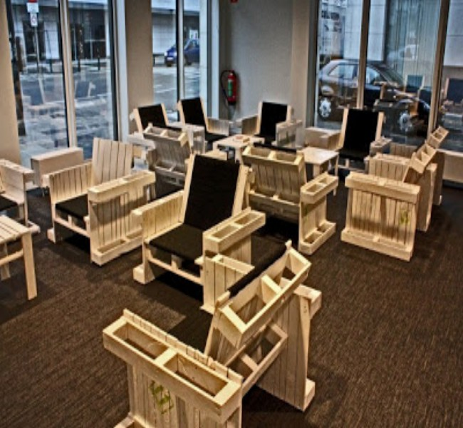 Furnish Your Office With Pallets Furniture Pallet Ideas