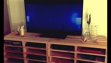 Pallets Made Entertainment Units / TV Cabinets