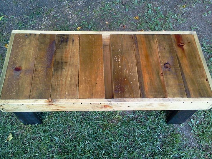Pallets Wood Coffee Table Bench