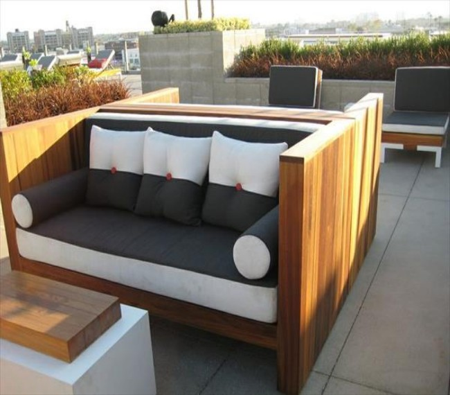 16 Elegant Pallets Patio Couches Pallet Ideas