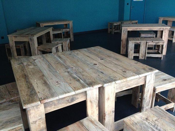 Pallets Made Classroom Furniture Pallet Ideas