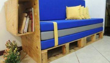 18 Elegant Pallets Wood Sofa Ideas