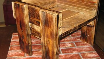 Wooden Pallets Booster Chair