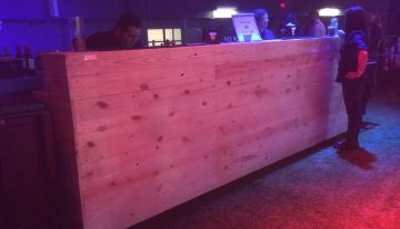 Dell World 2014 Pallets Bar Creations