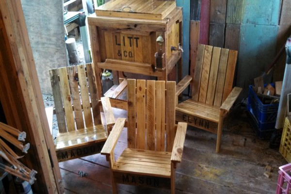 Pallets Made Chairs