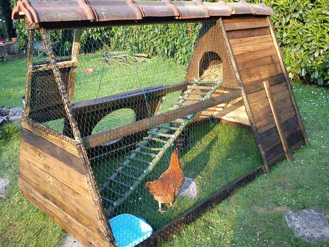 Pallets Made Hen House