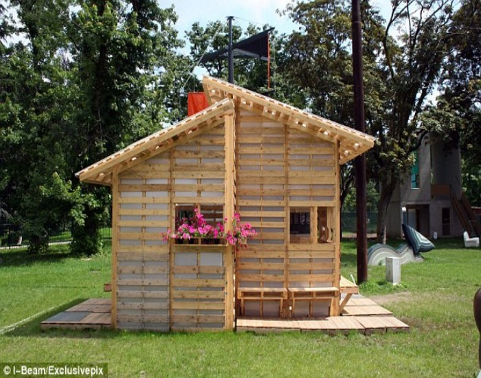 Pallets Made Home Ideas