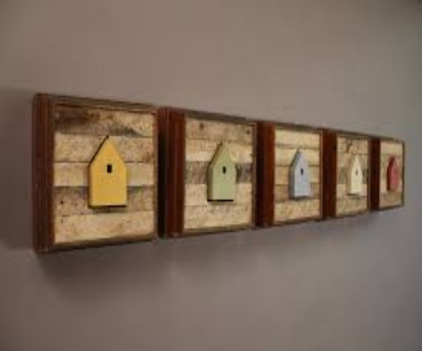 Wall Art With Pallets: Elegant Wall Art With Wooden Pallets